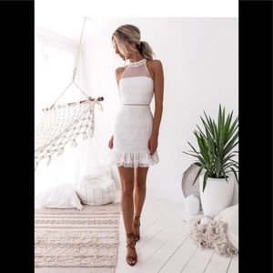 Two Sisters Vicky Dress in White